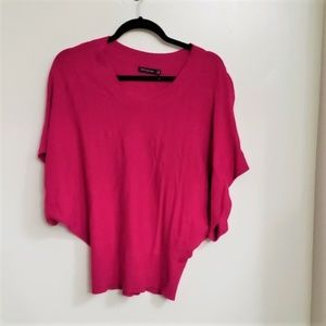 The Limited Magenta Sweater